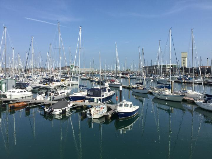 Gosport beautiful private boats bay